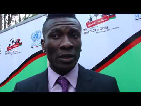 Asamoah Gyan interview