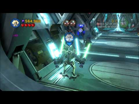 LEGO Star Wars III The Clone Wars Freeplay Gameplay