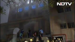 एम्स ट्रॉमा सेंटर की पहली मंजिल पर लगी आग - NDTVINDIA