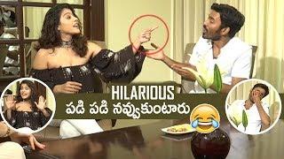 Actress Kajol Making Super Fun On Dhanush | Hilarious | #VIP2 | TFPC - TFPC