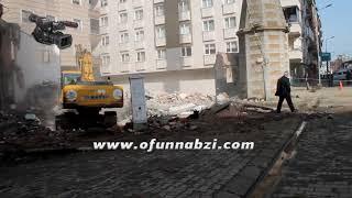 Of Kalyon Camii Yıkılıyor