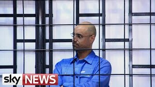 Saif Al Islam Found Guilty Of War Crimes And Sentenced To Death - SKYNEWS