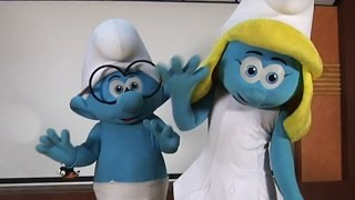 Meet Brainy And Smurfette From Smurfs | The Lost Village In Hyderabad | TFPC - TFPC