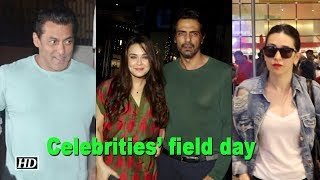 Salman Khan, Preity Zinta's field day in Mumbai - IANSINDIA