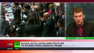 Chemical stalemate: Russia vetoes Japan-drafted plan to extend Syria chemical probe - RUSSIATODAY