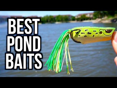 TOP 5 POND BASS FISHING BAITS - Bass Fishing Tips