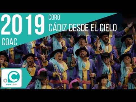 Sesión de Cuartos de final, la agrupación Cádiz desde el cielo actúa hoy en la modalidad de Coros.