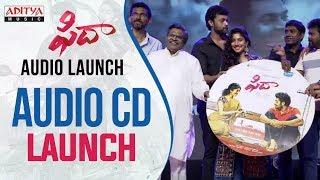 Fidaa Audio CD Launch At Fidaa Audio Launch | Varun Tej, Sai Pallavi | Shekar Kammula - ADITYAMUSIC