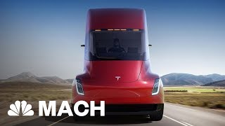 Tesla Just Unveiled A Brand New Roadster | Mach | NBC News - NBCNEWS