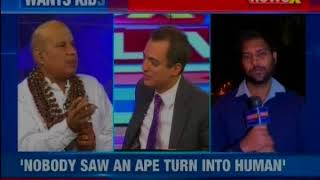 Evolution satya: Mantri negates Darwin's evolution theory, says nobody saw an ape turn into human - NEWSXLIVE