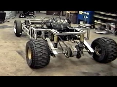 Homemade Go Kart Build Part1  -NEW-