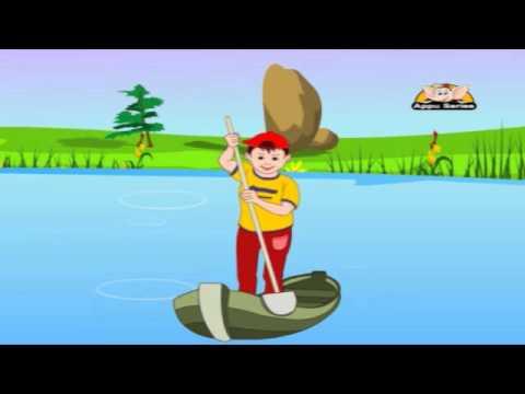 Nursery Rhymes - Row Your Boat -xnRygAJKTyY