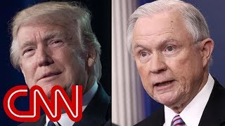 Trump: I'm disappointed in Jeff Sessions - CNN