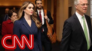 Journalist details Hope Hicks' time at the White House - CNN