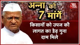 Anna Hazare To Go On A Hunger Strike Starting Today | Ek Aur Ek Gyarah - AAJTAKTV