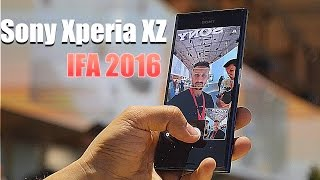 Обзор Sony Xperia XZ с IFA 2016