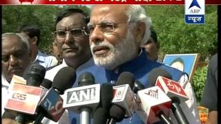 Don't know why Congress wants to insult Ambedkarji: Modi - ABPNEWSTV