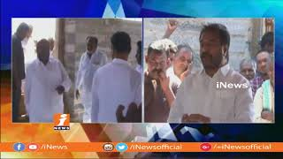 CM Ramhesh and Rama Subba Reddy Visits Kambaladinne Village For Kadapa Steel Plant | iNews - INEWS