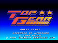 Super Nintendo - Top Gear - Track 1