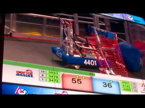Cuartos de final 1 - Match 1. FRC 2014 Mexico