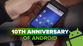 Android turns 10 - CNETTV