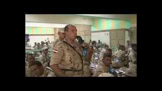 بالفيديو.. بكاء وزير الدفاع بعد سماعه قصيدة عن شهداء القوات المسلحة