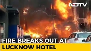 5 Dead In Major Fire At Hotel In Lucknow - NDTV