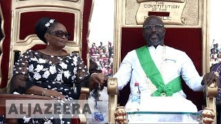 Liberia: George Weah sworn in as president - ALJAZEERAENGLISH