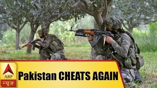 Pakistan CHEATS AGAIN, Opens fire after pleading for ceasefire - ABPNEWSTV