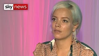 Mercury Prize: Lily Allen on fame, failure and breaking her press caricature - SKYNEWS