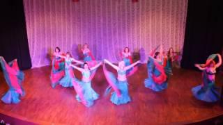 СТ RAKASSA Новогодний концерт , восточные танцы тренер Татаринова Юлия 25.12.16