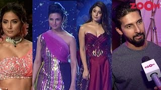 TV Stars walk the ramp at Bombay Times Fashion Week 2019 | Ravi Dubey turns producer - ZOOMDEKHO