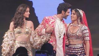 kartik Aryan और Ananya pandey ने दिखाया फैशन का अलग रूप