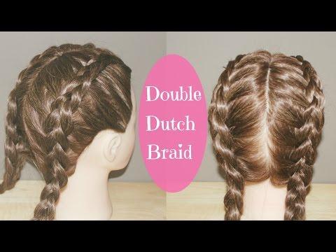 How to Double Dutch Braid Tutorial
