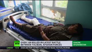 'US approach led to growth of terrorism':  Afghan faces suicide bombings and Taliban clashes - RUSSIATODAY
