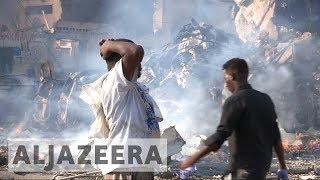 Somalia: Mogadishu rocked by twin bomb blasts, dozens killed - ALJAZEERAENGLISH