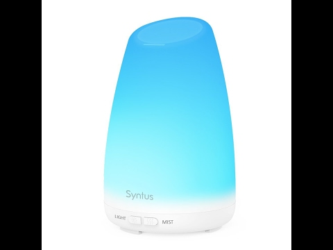 Syntus 150ml Essential Oil Diffuser - Review - The Amanda Cooke