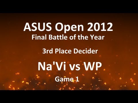 ASUS Open 2012 FBOTY 3rd Place decider: Na'Vi vs WP, game 1