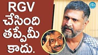 Adithya Menon About RGV's GST || Saradaga With Swetha Reddy - IDREAMMOVIES