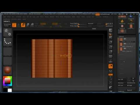 ZBrush 4R4 Tutorial: Creating Curved MultiMesh Brush (2 of 4)