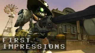 GUNS and ROBOTS Gameplay | First Impressions HD