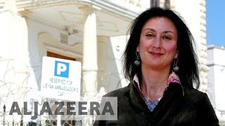 "Son of slain anti-corruption journalist calls Malta a ""mafia state"" - ALJAZEERAENGLISH"