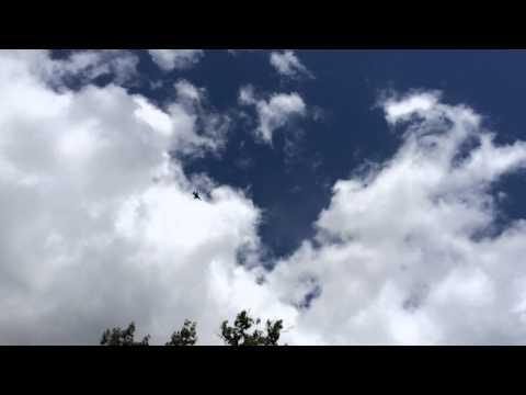 USAF Thunderbirds flyby
