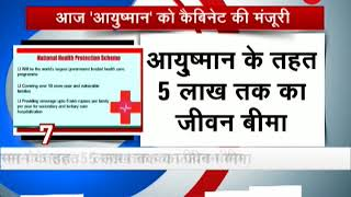 "National Health Protection scheme ""Ayushman Bharat"" may get approved by the cabinet - ZEENEWS"