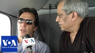 Former Cricketeer Imran Khan is Frontrunner in Pakistan's Upcoming Elections - VOAVIDEO