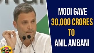 Rahul Gandhi Slams PM Modi Government over new Rafale report | Rahul Gandhi Latest Speech|Mango News - MANGONEWS