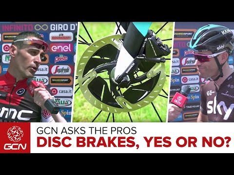 Should Disc Brakes Be Allowed? - GCN Asks The Pros