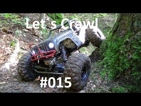 Let`s Crawl #015 / Axial Wraith Slomotions