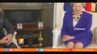 PM Modi's Three Nation Tour | Meets Britain Prime Minister Theresa May | iNews - INEWS