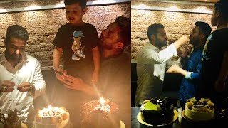 Kalyan Ram Celebrating His Birthday With Jr NTR And His  Son Abhay Ram | Tollywood Updates - RAJSHRITELUGU